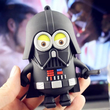2016 cartoon power bank Star Wars Darth Vader mobile power charging treasure white soldiers Darth Maul free shipping