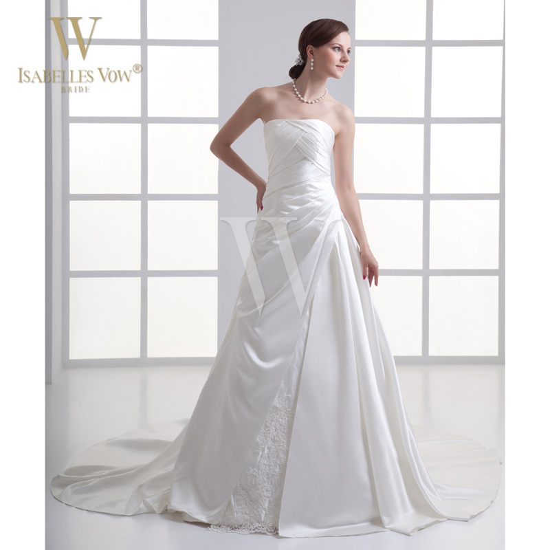 Plus size cheap wedding dress white off the shoulder for Off the shoulder beach wedding dresses
