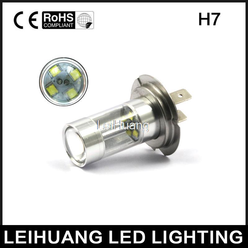 car h7 led high power lamp replace halogen light free. Black Bedroom Furniture Sets. Home Design Ideas