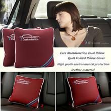 Multifunctional pillow quilt Car seat Cover Office Chair Lumbar Back Brace for M e46 e39 e90 e36 e60 f30 f10 x5 e53 e34 e30(China (Mainland))