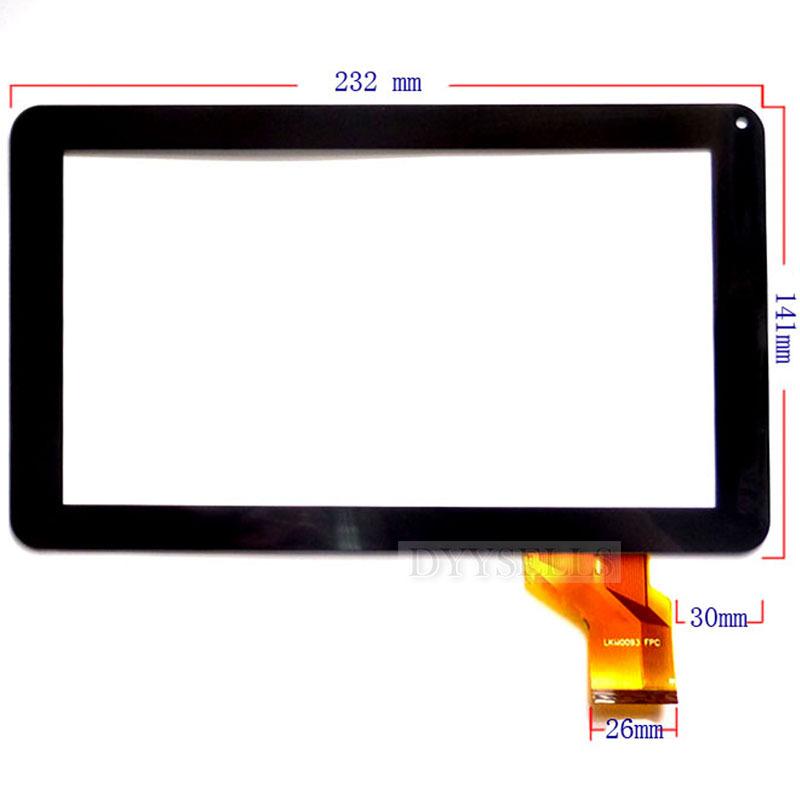 10PCs/lot New 9 Tablet HK90DR2004 TPC8436 TPC0436 MF-335-090F Touch screen digitizer panel Repair glass Sensor Free Shipping<br><br>Aliexpress