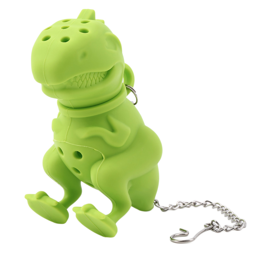 Dinosaur Tea Infuser Loose Leaf Strainer Herbal Silicone Filter Diffuser Worldwide Store  Dinosaur Tea Infuser Loose Leaf Strainer Herbal Silicone Filter Diffuser Worldwide Store