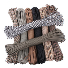 Paracord 550 Paracord Parachute Cord Lanyard Rope Mil Spec Type III 7Strand 100FT Climbing Camping survival equipment(China (Mainland))
