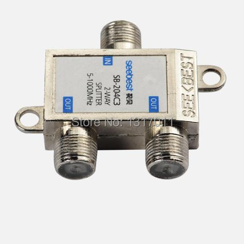 Seebest SB-204C3 Outdoor splitter&tap off 2 way CATV tap-off and splitter(C series)(China (Mainland))