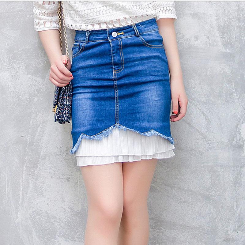 get cheap blue jean skirts aliexpress
