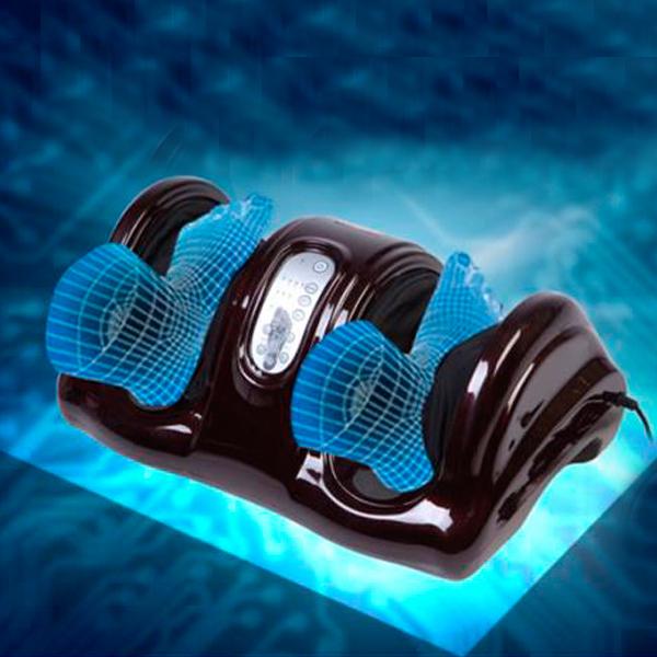 Best Selling Intelligent Remote Control Leg Massage Machine Foot Instrument Body Care Vibration Shiatsu Foot Massager(China (Mainland))