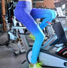 2016 Hot Women Sport Leggings For Running Training Bodybuilding Fitness Clothing Gym Clothes Pants Elastic Jegging ZL-5412(China (Mainland))