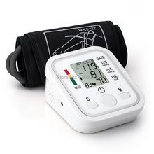 Health Care! High Quality Arm Style Full Automatic Electronic Blood Pressure Monitor Household Health Monitor  Sphygmomanometer