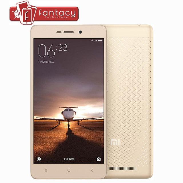 """Оригинал Xiaomi редми 3 тд LTE 4 г Snapdragon 616 Octa ядро 1.5 ГГц полностью металлический 2 г оперативной памяти 16 г ROM 5.0 """" 720 P MIUI 7 13MP мобильных телефонов"""