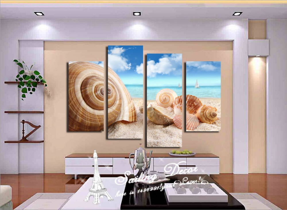 Home decor 2015 new the most beautiful sea view shell for Sea decorations for home