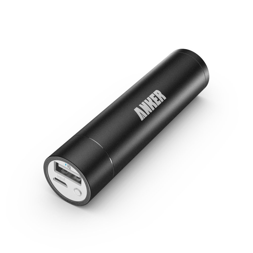 Anker Astro mini 3350mAh Lipstick-Sized Portable Charger External Battery Power Bank with PowerIQ Technology for iPhone, Samsung(China (Mainland))