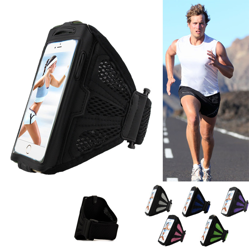 Running Sport Case For 4.7-5.1 inch Cell Phone Breathable Arm Holder Bag Phone Cover For Samsung Galaxy S6 S5 S4 For iPhone 6(China (Mainland))