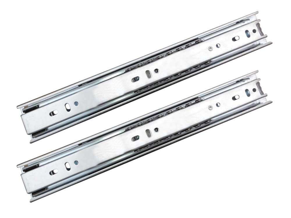 1Pair Kitchen Furniture Drawer Slide Runners Roller 45mm 250mm to 500mm(China (Mainland))