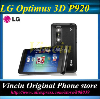 Original Unlocked  lg Optimus 3D P920 Cell Phone Wifi 3G Android OS Touch Screen refurbished Refurbished