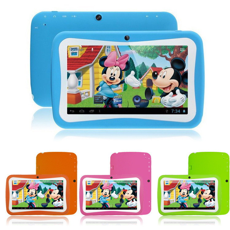 7-Kids-Tablet-PC-With-Children-Educational-Apps-Capacitive-Screen-Dual-Camera-WiFi-Soft-Back-Cover