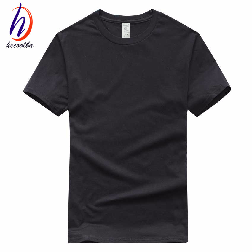 Plain Black Tshirt Promotion-Shop for Promotional Plain Black ...
