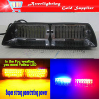 Free shipping super bright  Car Warning Lights VIPER S2  USA Federal 16pcs LED blinking light