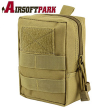 Buy Outdoor 1000D Military MOLLE Waist Bag Tactical Portable Waterproof Belt Pouch Accessory Hunting Camping Shooting CS Game for $4.49 in AliExpress store