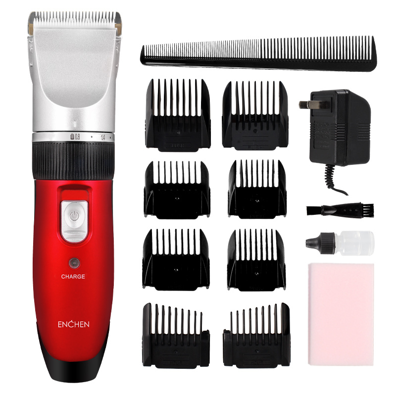 safey baby hair electric hair clipper household salon hair trimmer stainless steel for child adult cutting hair ceramics machine(China (Mainland))