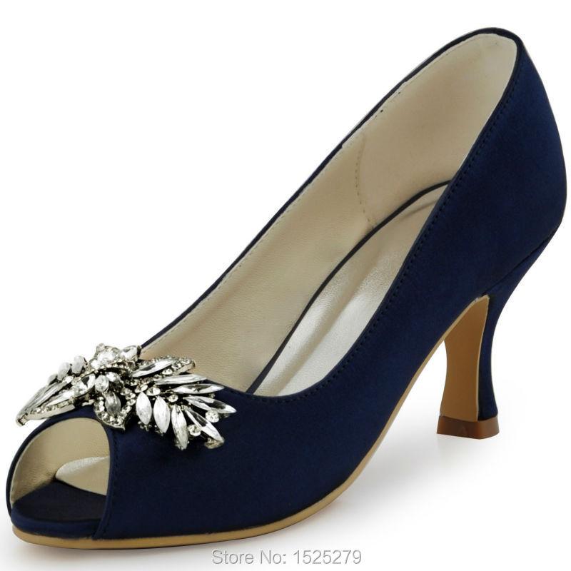 Navy Blue 2 Inch Heels