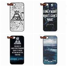 For Apple iPhone 4 4S 5 5C SE 6 6S Plus 4.7 5.5 iPod Touch 4 5 6 Hardcore Music Band Fall Out Boy FOB Black Cover Case(China (Mainland))