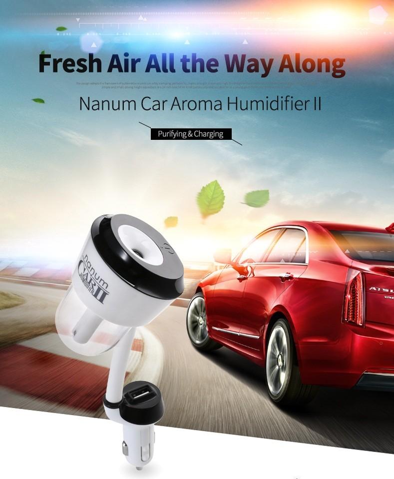 Car Aroma Diffuser ~ Upgraded v car humidifier air purifier aroma diffuser