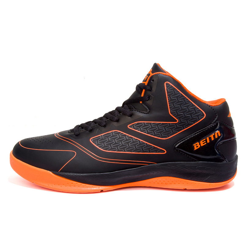High Shoes Street Basketball Shoes For Basketball Boots Shock Anti-Skid Breathable High Tops Basketball Shoes For Men Sneakers(China (Mainland))