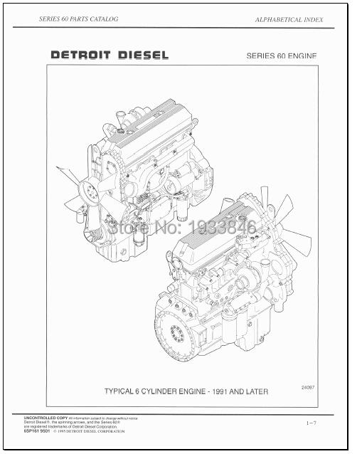 Detroit Diesel 60 Series Parts Catalog(China (Mainland))