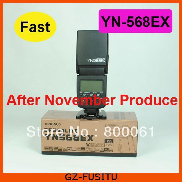 FAST SHIPPING YONGNUO YN-568EX YN-568 EX Flash Speedlite for Canon 550D 600D 650D 5DII 5DIII