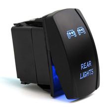 Buy Blue Rocker Switch Backlit LED Rear Light Polaris RZR XP 900 1000 Ranger UTV for $3.69 in AliExpress store