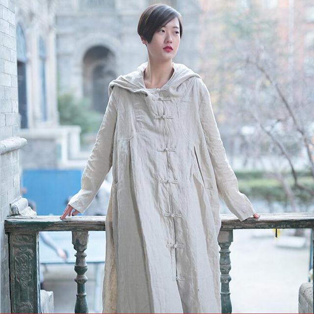Новый женщины с длинными рукавами широкий Большой размер одеяние плащ 2016 сплошной ...