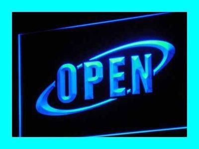 i038-b OPEN NEW Cafe Restaurant Bar LED Neon Light Sign Wholesale Dropshipping(China (Mainland))