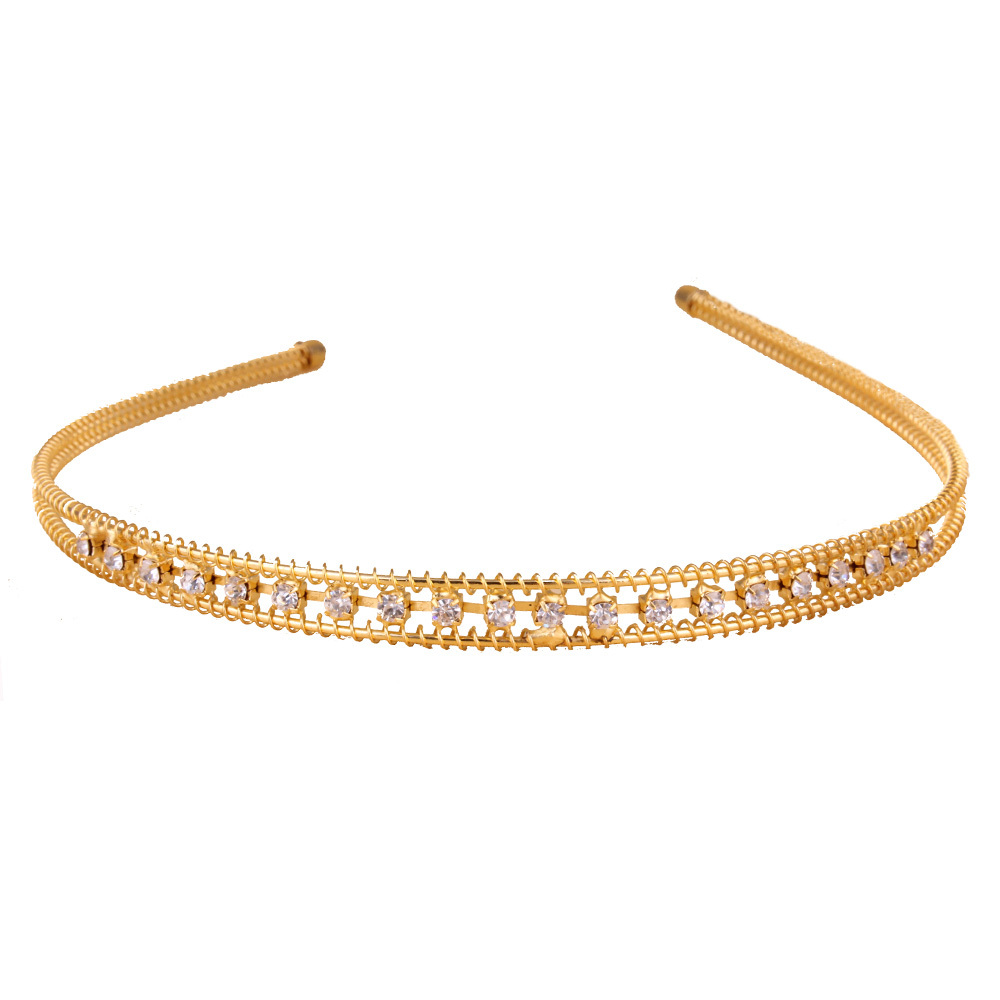 Fashion hairbands For Women jewelry shining Rhinestone Tiaras and Crowns Hair Accessories HGQ-0015(China (Mainland))
