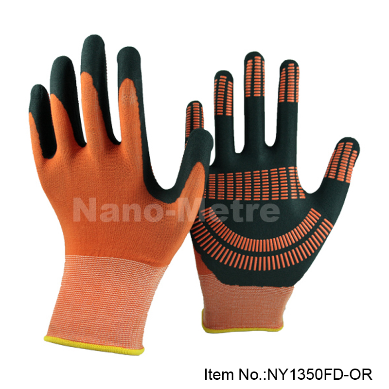NMSafety 4 pairs nitrile dotted palm foam nitrile general carry protective glove,repair car gloves anti slip oil resistance<br><br>Aliexpress