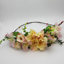 Rose Flower Wreath Crown