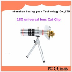Hot 4in1 Universal Mobile Phone Lens 9X Zoom Telescope lens Fish Eye Wide Angle Macro Lenses For iPhone 4 5 6 S 6Plus Samsung