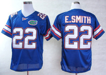 New Florida Gators #22 Emmitt Smith,2016 New Style Cheapest Sportest Jersey,Free Shiping,College Football Jerseys,Can Mix Order(China (Mainland))