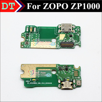 100% Original ZP1000 USB Plug Charge Board Connector With micorphone For ZOPO ZP1000 8510 Smart Cell phone