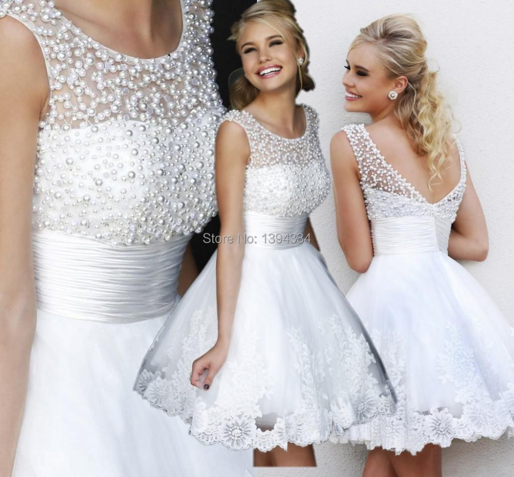 Popular Sexy White Reception Dress-Buy Cheap Sexy White Reception ...