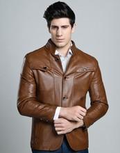 Free shipping Men's New winter menswear, South Korea version of mandarin-collar jacket, thickening brand fur coat(China (Mainland))