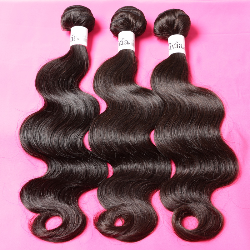 Indian virgin hair weave 3pcs lot Mixed Lenght remy human hair weft 8inch to 30inch indian body wave,free shipping(China (Mainland))