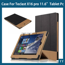 Teclast X16 Pro Case High quality PU Leather case for Teclast X16 Pro Case cover + free screen protector + touch pen