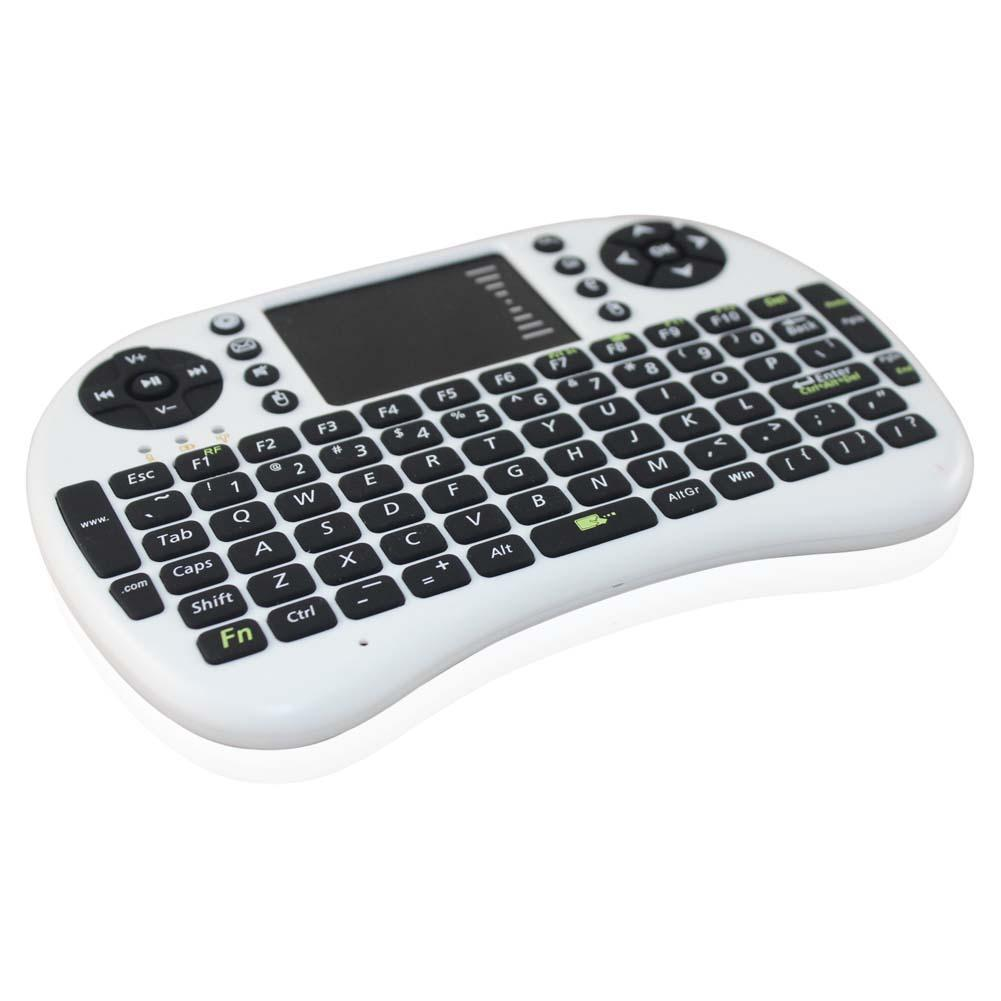 Mini Wireless Keyboard 2.4GHz English Air Mouse Keyboard Remote Control Touchpad For Android TV Box Notebook Tablet Pc(China (Mainland))