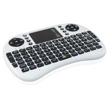 Mini tastiera senza fili 2.4 ghz inglese air mouse remote keyboard controllo touchpad per android tv box notebook tablet pc(China (Mainland))