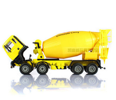 High Quality!!! KAIDIWEI Construction Concrete Lorry Truck Car 1:50 Alloy 17.5*7.7*5cm Vehicle Toys Gifts Models(China (Mainland))