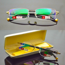 MEN Titanium alloy Senators Antireflective coated reader read Non spherical reading glasses+1.0 +1.5 +2.0 +2.5 +3.0 +3.5+4.0