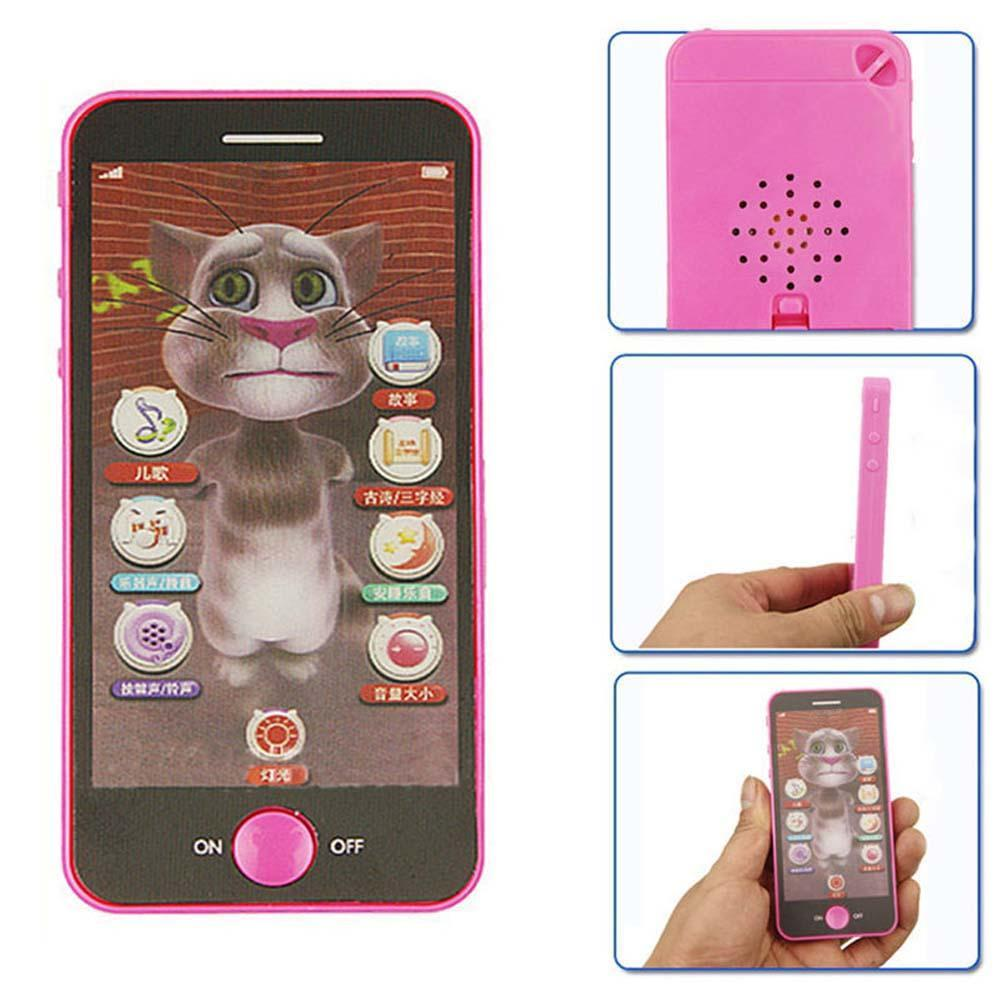 Baby Simulator Music Phone Touch Screen Children Educational Learning Toy Cellphone learning games for kids Infant toys(China (Mainland))