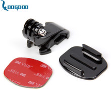 Go pro Accessories J Hook Buckle Holder+3M Adhesive Sticker+Flat Surface Mount Adapter GoPro Hero 4 3+ 2 1 SJ4000 GP57 - LoogDoo Ultimate accessories Store store