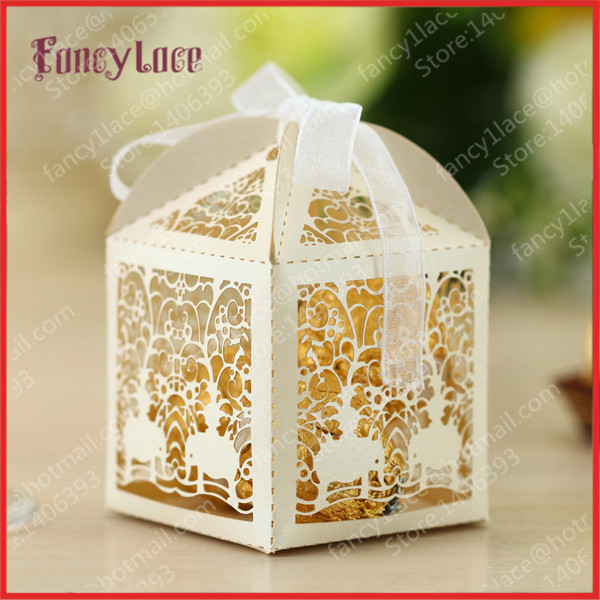 Indian Wedding Gift Boxes For Sale : Hot Sale Laser Cutting Indian Style Wedding Favor Candy Boxes ...