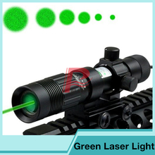 Night Vision Optics Strong Green Laser Flashlight Airsoft pistol Illuminator Tactical Flashlight Hunting Laser Sight HT8
